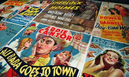 These rare Hollywood film posters dated between 1936 and 1940 were found in perfect condition after being used as carpet underlay for decades