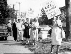 In 1963, hundreds of civil rights activists were arrested at Gwynn Oak Amusement Park in Baltimore after protesting the park's refusal to admit Black patrons. The July 4th campaign was coordinated by a large community that included the National Association for the Advancement of Colored People (NAACP), the Congress for Racial Equality (CORE), and the National Council of Churches (NCC). On August 28, 1963, the culmination of nearly a decade of protest resulted in Gwynn Oak's desegregation.