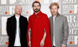 No polo necks here, but worth a Biffy Clyro mention for this cape alone.