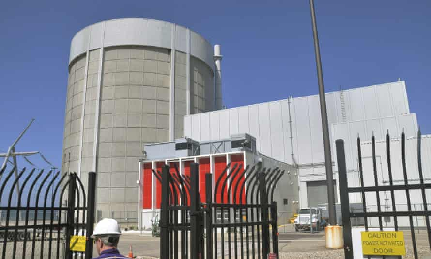 Palisades nuclear power plant in Michigan, US.