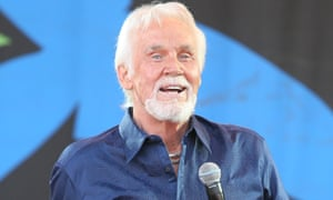 Country musician Kenny Rogers