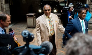 Bill Cosby walks into the Allegheny County courthouse in downtown Pittsburgh.