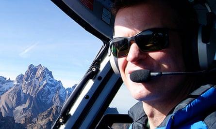 Pilot Roger Gower