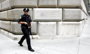 The Federal Reserve Bank in New York, which was told to make 32 transactions totalling $951m for accounts around the world after hackers got into the transfer system.