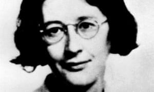 the last photograph of Simone Weil.