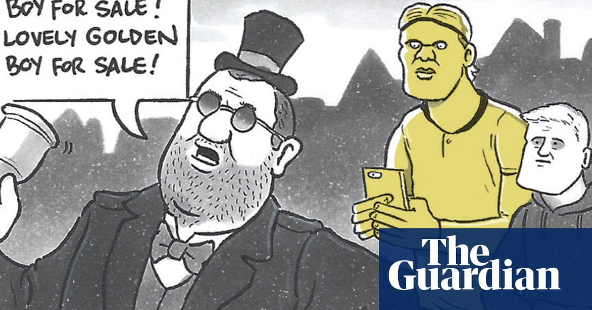 David Squires on … the great Erling Haaland European sales tour