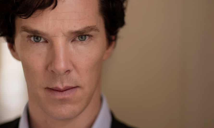 Benedict Cumberbatch, a distant relative of Sir Arthur Conan Doyle.