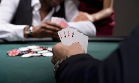 Poker players are high-risk gamblers but lose more on other gambling, the report says.