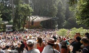 Live music in Stern Grove