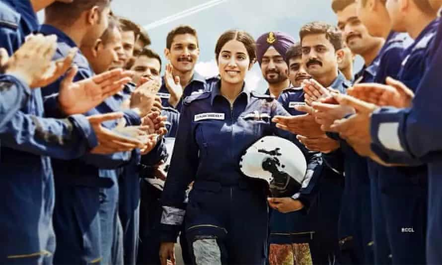 Netflix portrayal of female Indian Air Force pilot flies into flak   Women's rights and gender equality   The Guardian
