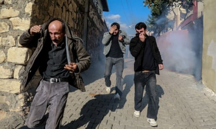 HDP activists in Turkey