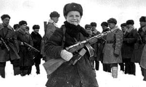 A 15-year-old Red Army scout in 1942.