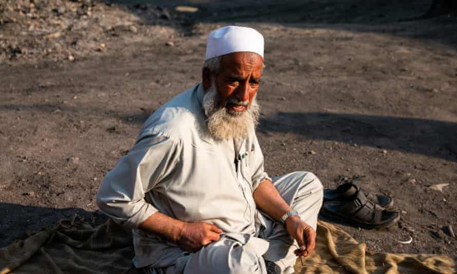 Bakth Nazar has worked in the coalfields for 30 years. He has lost three family members to unsafe mining conditions.