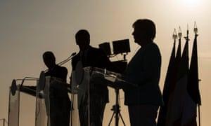 Renzi, Merkel, Hollande