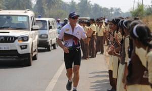 Road runner … Pat Farmer