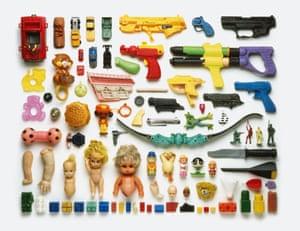 Toys Stuart Haygarth photo arrangement
