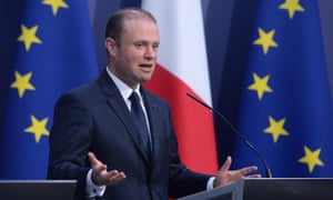 Joseph Muscat and his wife deny receiving payments or having any connection to the Panama-registered shell company Egrant.