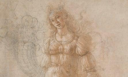Allegory of Abundance or Autumn, by Sandro Botticelli