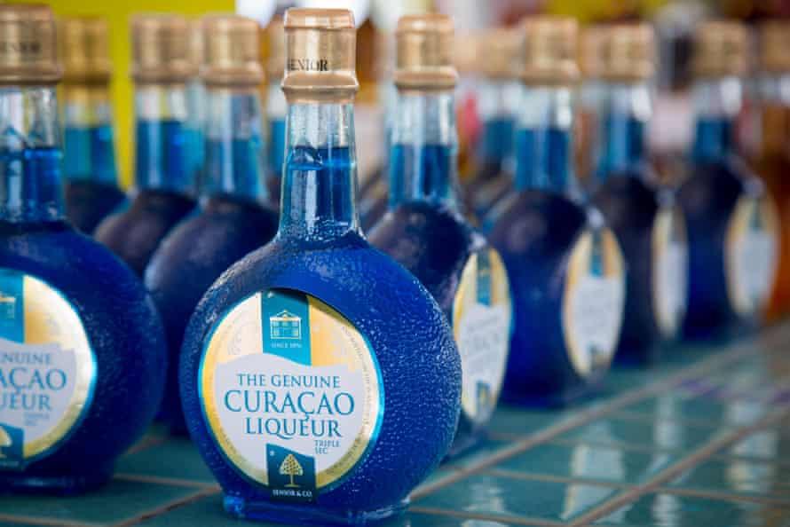blue curaçao.