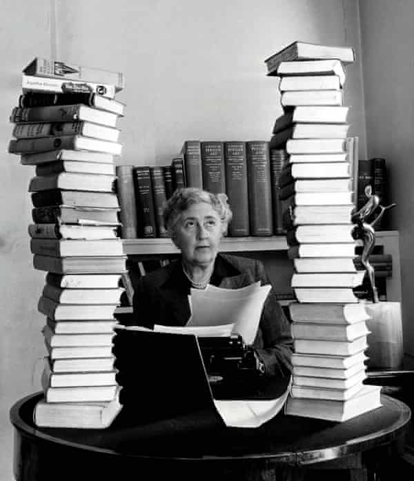 Agatha Christie in the 50s.