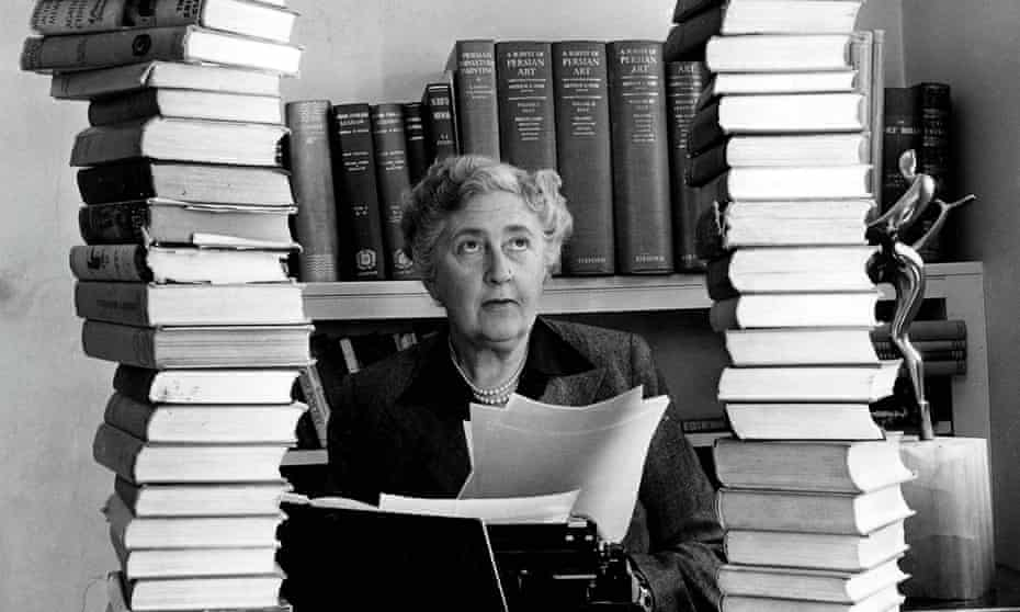 Fascinating explorations of the human condition … Agatha Christie.