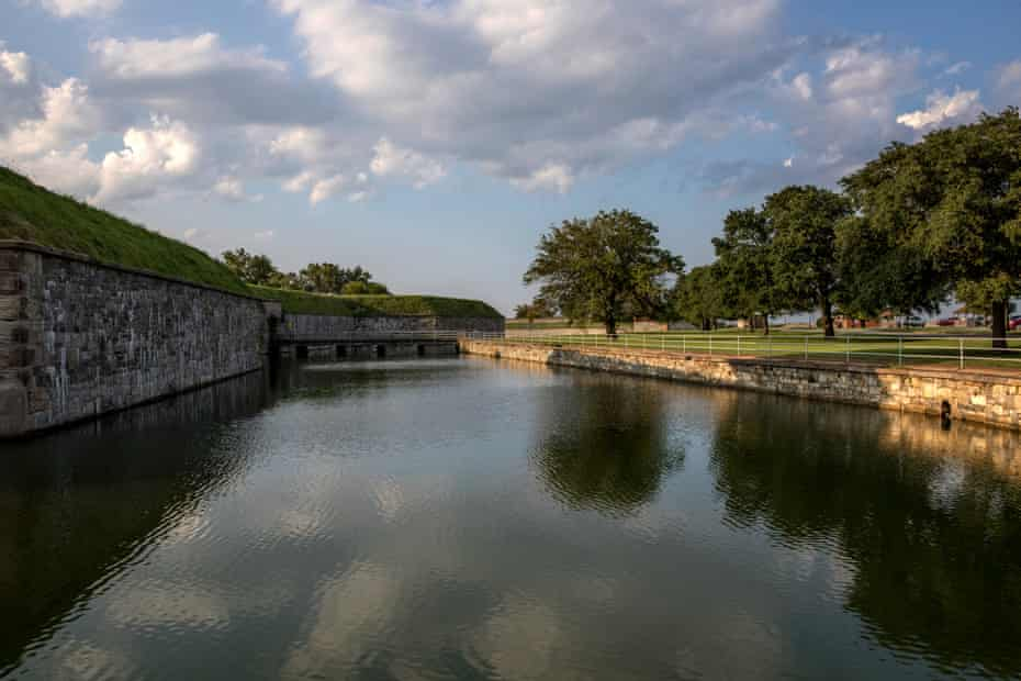 Fort Monroe is the site of the landing of the first enslaved Africans in English-occupied North America at Point Comfort in 1619.