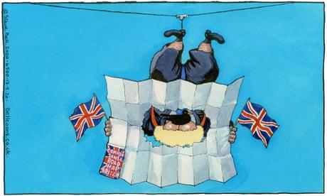 Steve Bell on Boris Johnson's coronavirus roadmap – cartoon