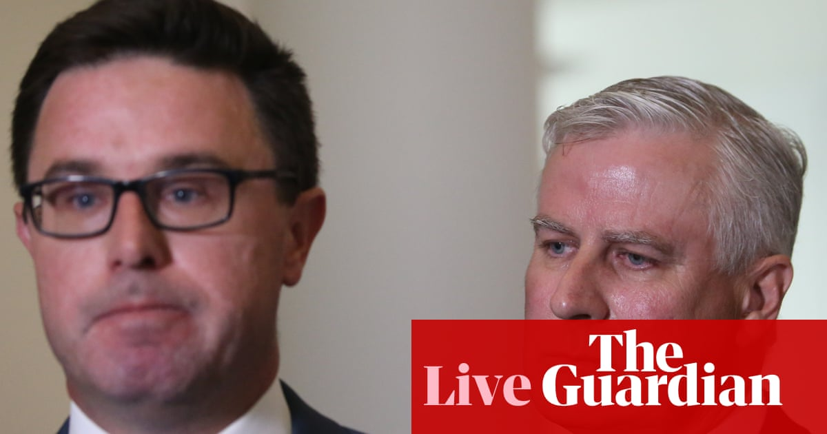 4366 - National party tensions test Coalition as Scott Morrison reshuffles cabinet – politics live | Australia news