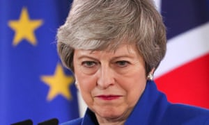 Theresa May. 'It is said that those whom the gods wish to destroy they first make mad. This seems to be true of the modern Conservative party.'