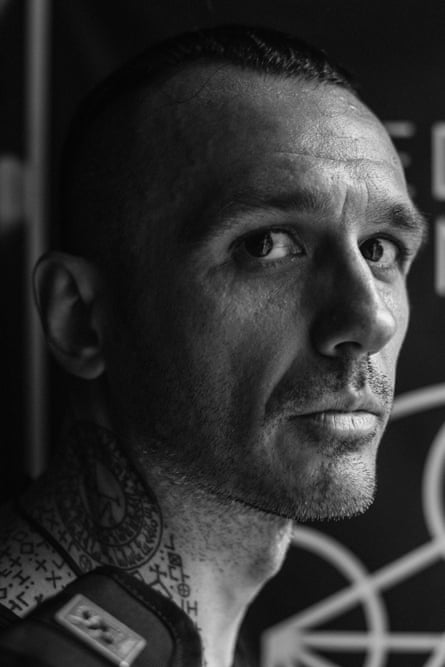 Damien Echols, who spent 18 years on death row before walking free.