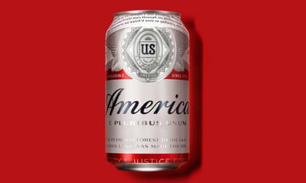 Budweiser America can