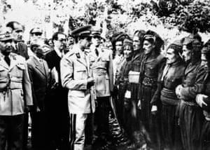 Chieftains visit Shah