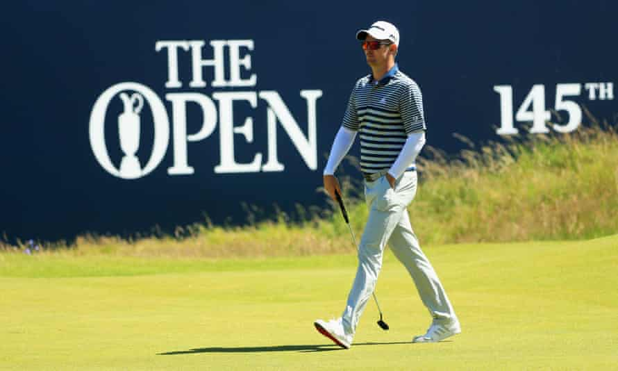 Justin Rose was at his uprightly elegant best in the opening round of the Open Championship at Royal Troon with an almost error-free 68.