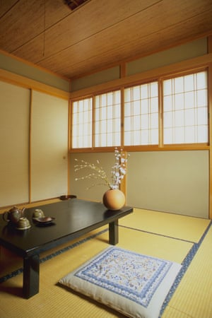 A room at the Kiso Valley Tsumago ryokan, in Nagano Prefecture.