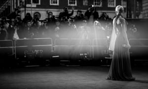 Best actress winner Denise Gough at the Olivier awards.