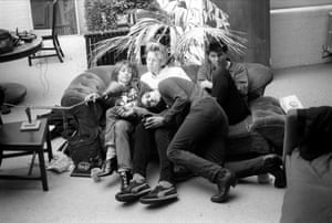 Sonic Youth in 1984.