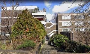 Google Maps screengrab of Gilesmead estate