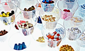 Graphic look at a multitude of pharmaceuticals
