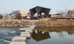 Adjaye's Gwangju River Reading Room in South Korea.