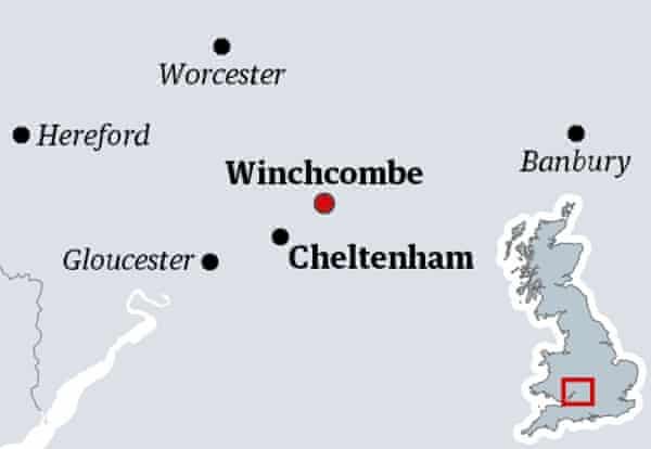 Winchcombe map