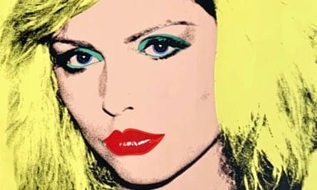 Debbie Harry (1980) by Andy Warhol.