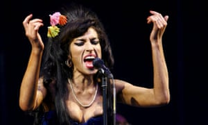 The late Amy Winehouse performing in 2008.