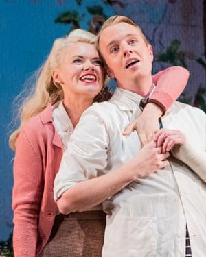 Thoroughly charming … Kathryn Rudge as Nancy and Morgan Pearse as Sid in Albert Herring.