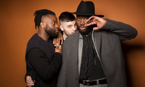 Young Fathers (l-r): Kayus Bankole, Graham Hastings and Alloysious Massaquoi.