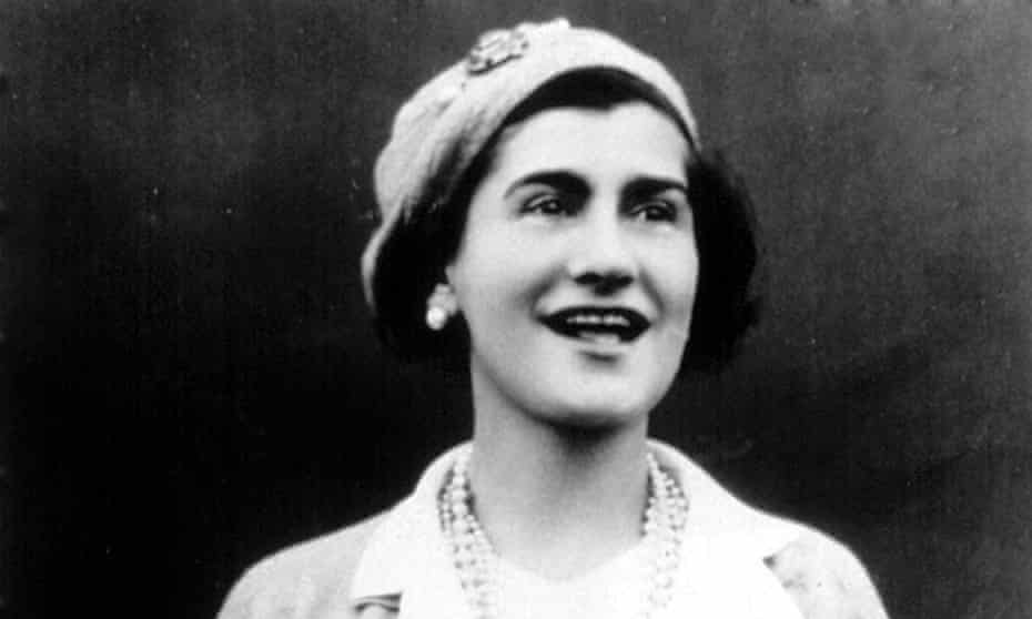 Coco Chanel in 1936.