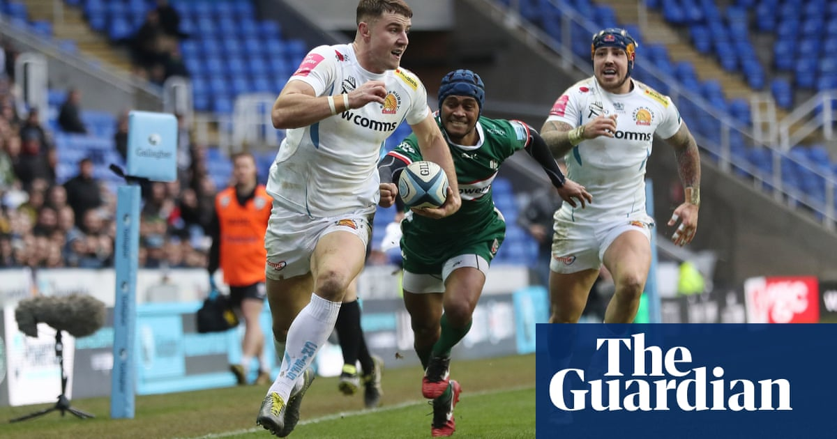 Exeter use all their power and reduce London Irish to silence