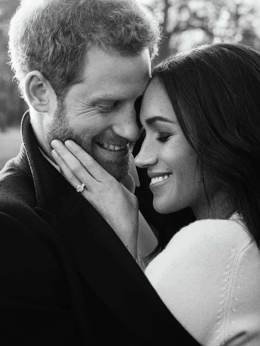 Prince Harry And Meghan Markle's engagementpicture