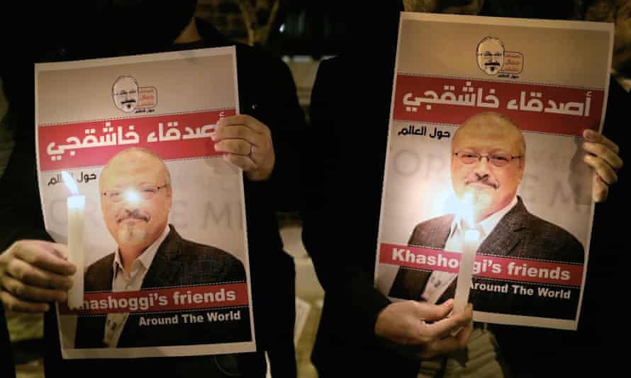 'His light will never fade,' write Jamal Khashoggi's daughters.