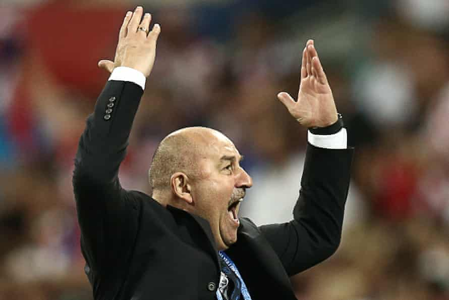 Stanislav Cherchesov's tactics and force of personality helped win over the Russian public.