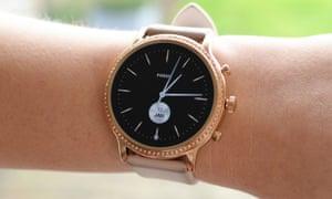 The Fossil Gen 5 watch